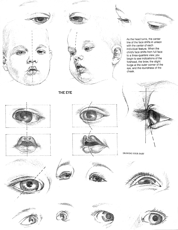 Baby Eyes, from Drawing Your Baby by Judy Clifford